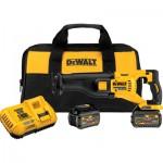 DEWALT FLEXVOLT 60 Volt Brushless Reciprocating Saw Kit — Two FLEXVOLT Batteries, Model# DCS388T2