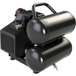 Powerbuilt 5-Gallon, 2 HP Twin Tank Air Compressor, Model# 641594