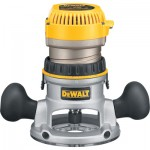 DEWALT Fixed Base Router — 1 3/4 HP, 24,500 RPM, Model# DW616