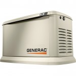 Generac Synergy Air-Cooled Home Standby Generator — 20 kW (LP)/18 kW (NG), 200 Amp Whole House Transfer Switch, Model# 7040