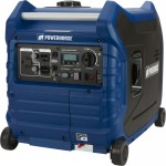 Powerhorse Inverter Generator — 3500 Surge Watts, 3000 Rated Watts, Electric Start, EPA and CARB Compliant, Model# LC3500i
