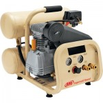 Ingersoll Rand Twin-Stack Portable Electric Air Compressor — 2 HP, 4-Gallon, 4.3 CFM, Model# P1IU-A9