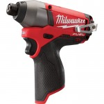 Milwaukee M12 FUEL Cordless Impact Driver — Tool Only, 1/4in. Hex, 12 Volt, Model# 2453-20