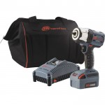 Ingersoll Rand IQV20 Series Lightweight Cordless Impact Wrench Kit — One Battery, 20 Volt, 3/8in. Drive, Model# W5132-K12