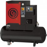 Chicago Pneumatic Quiet Rotary Screw Air Compressor with Dryer — 7.5 HP, 230 Volts, 1 Phase, Model# QRS7.5HPD-1