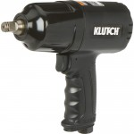Klutch Air Impact Wrench — 1/2in. Drive, 4.5 CFM, 630 Ft.-Lbs. Torque