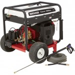 NorthStar Gas Cold Water Pressure Washer — 5000 PSI, 5.0 GPM, Electric Start, Honda Engine, Belt Drive, Model# 1572091