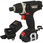 Ironton 12 Volt Lithium-Ion Impact Driver — 1/4in. Locking Collet