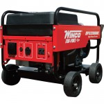Winco Portable Tri-Fuel Generator — 12,000 Surge Watts, 10,800 Rated Watts, Electric Start, Model# 16612-001