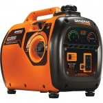 Generac iQ2000 Portable Inverter Generator — 2000 Surge Watts, 1600 Rated Watts, Model# 6866