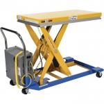 Vestil DC-Powered Scissor Cart — 1,500-Lb. Capacity, Model# CART-24-15-DC