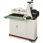 JET Drum Sander with Closed Stand & Casters — 1 3/4 HP, 20 Amp, Model# 22-44 Plus
