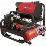 NorthStar Hot Water Pressure Washer Skid with 2 Wands — 4,000 PSI, 7.0 GPM