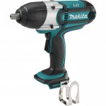 Makita 18V LXT 1/2in. High Torque Impact Wrench — Tool Only, Model# XWT04Z