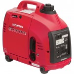 Honda EU1000i Portable Inverter Generator — 1000 Surge Watts, 900 Rated Watts, CARB-Compliant, Model# EU1000T1A