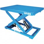 Bishamon Industries Electric Hydraulic Lift Table — 28in. x 48in. Platform, Model# L2K2848