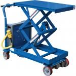 Vestil Traction Drive Electric Hydraulic Elevating Cart — 2,000-Lb. Capacity, 40in.L x 20in.W Platform, 16in.–40in. Service Range, Model# CART-2000-CTD