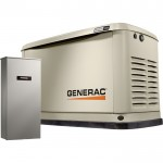 Generac Guardian Series Air-Cooled Home Standby Generator — 20 kW (LP)/18 kW (NG), 200 Amp Transfer Switch, Model# 7039
