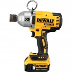 DEWALT 20 Volt MAX XR Brushless High Torque 7/16in. Impact Wrench With Quick Release Chuck Kit — 2 Lithium-Ion Batteries, Charger, Model# DCF898P2