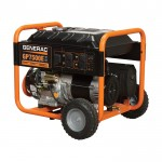 Generac GP7500E Portable Generator — 9375 Surge Watts, 7500 Rated Watts, Electric Start, Model# 5943