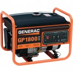 Generac GP1800 Portable Generator — 2050 Surge Watts, 1800 Rated Watts, Model# 5981