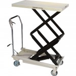 JET Hydraulic Double Scissor Lift Table — 770-Lb. Capacity, Model# DSLT-770