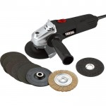 Ironton 4 1/2in. Angle Grinder Kit — 4.8 Amp