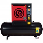 Chicago Pneumatic Quiet Rotary Screw Air Compressor — 10 HP, 230 Volts, 3 Phase, Model# QRS10HP-125