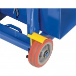 Vestil Lite Load Lift Option — Hand-Operated Floor Lock, Model# LLW-FL
