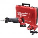 Milwaukee M18 FUEL Sawzall Reciprocating Saw Kit — One M18 RedLithium XC 5.0 Battery, Model# 2720-21