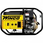Winco Portable Diesel Generator — 6010 Surge Watts, 5020 Rated Watts, Kohler 440cc Engine, Electric Start, EPA and Tier IV Final Compliant, Model# W6010DE