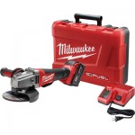 Milwaukee M18 FUEL 4 1/2in./5in. Grinder Kit — One M18 RedLithium XC 5.0 Battery, Paddle Switch, No-Lock, Model# 2780-21