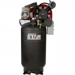 NorthStar Electric Air Compressor — 7.5 HP, 80-Gallon Vertical, 230 Volt, 24.4 CFM @ 90 PSI