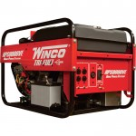 Winco Portable Tri-Fuel Generator — 9000 Surge Watts, 8000 Rated Watts, Electric Start, Model# 16609-000