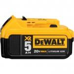 DEWALT 20 Volt MAX XR Lithium-Ion Battery — 5Ah, Model# DCB205