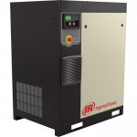 Ingersoll Rand Rotary Screw Compressor — Total Air System, 7.5 HP, 460 Volt/3-Phase, 27.5 CFM @ 115 PSI, 80-Gallon Tank, Model# 48670772