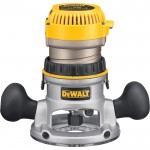 DEWALT Heavy-Duty Fixed Base Router Kit — 2 1/4 HP, 12 Amp, Model# DW618K