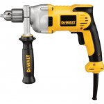 DEWALT VSR Pistol Grip Corded Electric Drill — 1/2in. Chuck, 10.0 Amp, 1,250 RPM, Model# DWD210G