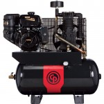 Chicago Pneumatic Gas-Powered Air Compressor — 12 HP, 30 Gallon, Model# RCP1230G