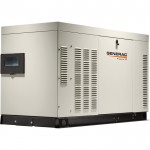 Generac QuietSource Series Liquid-Cooled Home Standby Generator — 27 kW (LP)/25 kW NG, Model# RG027224ANAX