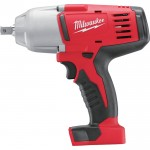 Milwaukee M18 Cordless Impact Wrench w/Pin Detent — Tool Only, 1/2in., Model# 2662-20