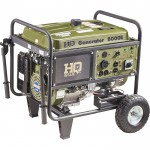 HQ Issue Portable Generator — 8000 Surge Watts, 7500 Rated Watts, Electric Start, EPA Certified, Model# HQ8000E