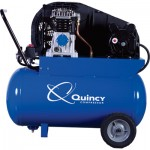 Quincy Single-Stage Portable Electric Air Compressor — 2 HP, 20-Gallon Horizontal, 7.4 CFM, Model# Q12120PQ