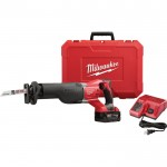 Milwaukee M18 Sawzall Reciprocating Saw — One Battery, Charger, Model# 2621-21