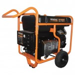 Generac GP15000E Portable Generator — 22,500 Surge Watts, 15,000 Rated Watts, Electric Start, Model# 5734