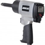 AIRCAT Extended Brushed Aluminum Impact Wrench — 1/2in. Drive, 800 Ft.-Lbs. Torque, 2in. Anvil, Model# 1450–2