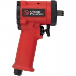 Chicago Pneumatic Stubby Air Impact Wrench — 1/2in. Drive, 4.7 CFM, 450 Ft.-Lbs. Torque, Model# CP7732