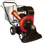 Merry Mac Walk-Behind Vacuum/Chipper/Bagger — 250cc Briggs & Stratton Powerbuilt Engine with Electric Start, Model# VCB1102EM