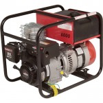 Winco Portable Generator — 6000 Surge Watts, 5400 Rated Watts, Model# DL6000I