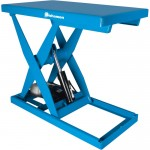 Bishamon Optimus Series Electric Hydraulic Lift Table — 3,000-Lb. Capacity, 36in. x 48in. Platform, 1 HP, Model# L3K-3648